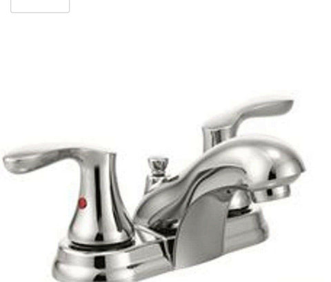 Cleveland Faucet Group Cornerstone Brushed nickel one-handle bathroom faucet
