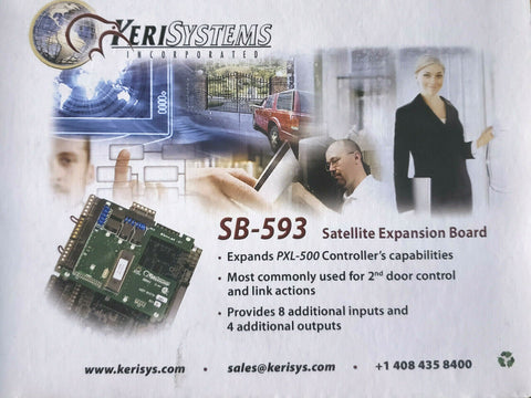 Keri Systems SB-593 Satellite Expansion Board