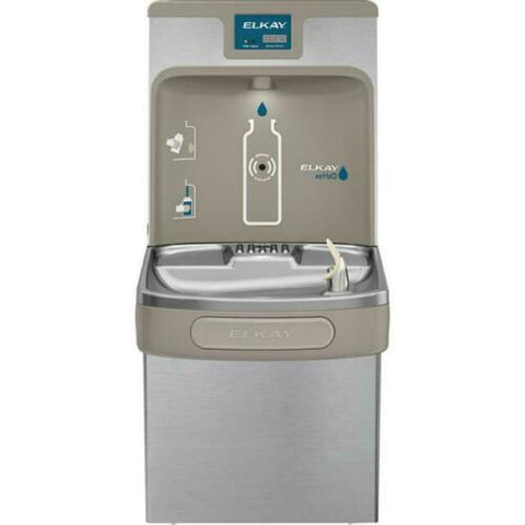 Elkay Lzs8wssp Enhanced Ezh2o Bottle Filling Station & Single Ada Cooler 8 GPH