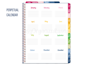 2020-21 Weekly Vertical Digital Planner