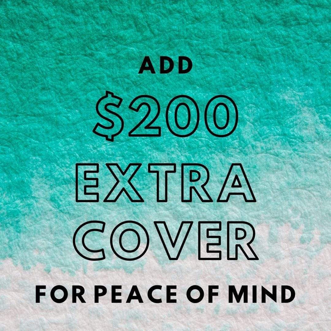 $200 AUD Add Extra Cover $200 +, Postage insurance in Australia handmade custom jewellery and gifts epona creations by monika made in australia