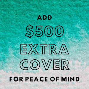 $500 AUD Add Extra Cover $200 +, Postage insurance in Australia handmade custom jewellery and gifts epona creations by monika made in australia