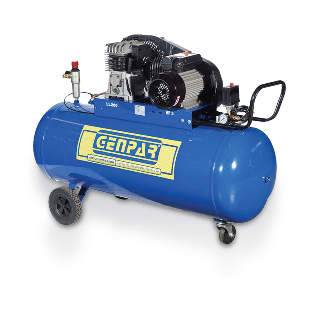 Compresor profesional 200 LTS - 5,5 HP
