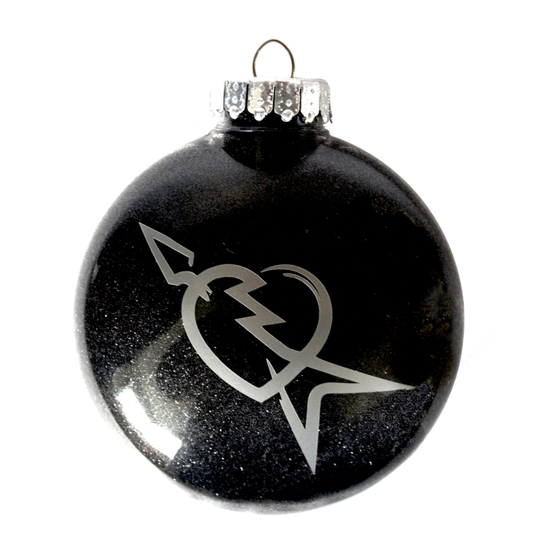 Limited Edition Black Heartbreaker Ornament