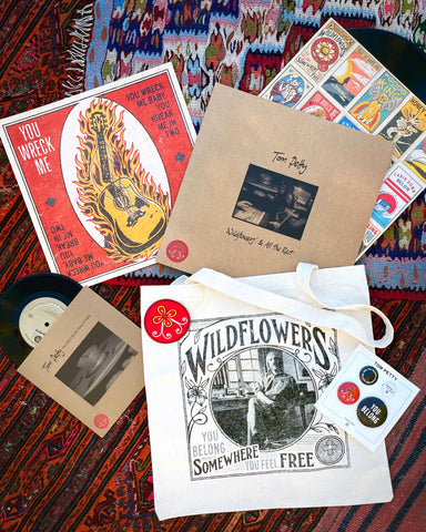 3 LP - Wildflowers & All The Rest - Limited Edition Bundle