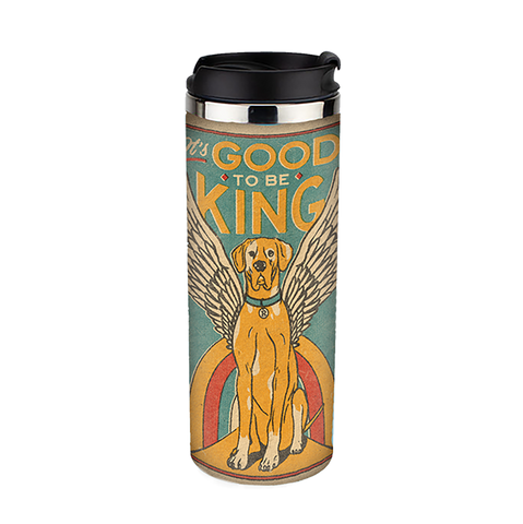 Good to be King Travel Tumbler