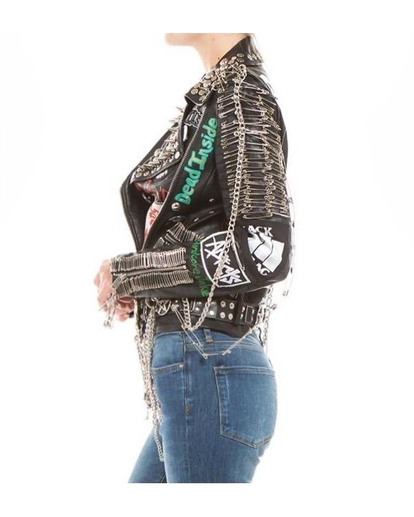 Stud Punk Jacket - Custom - One of a Kind