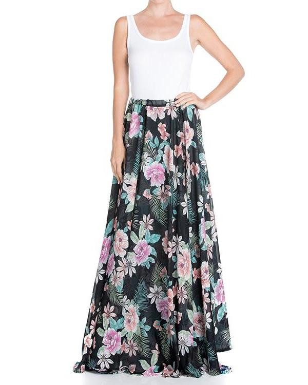 FireFly Reversible Skirt - Black Pink - Meghan Fabulous