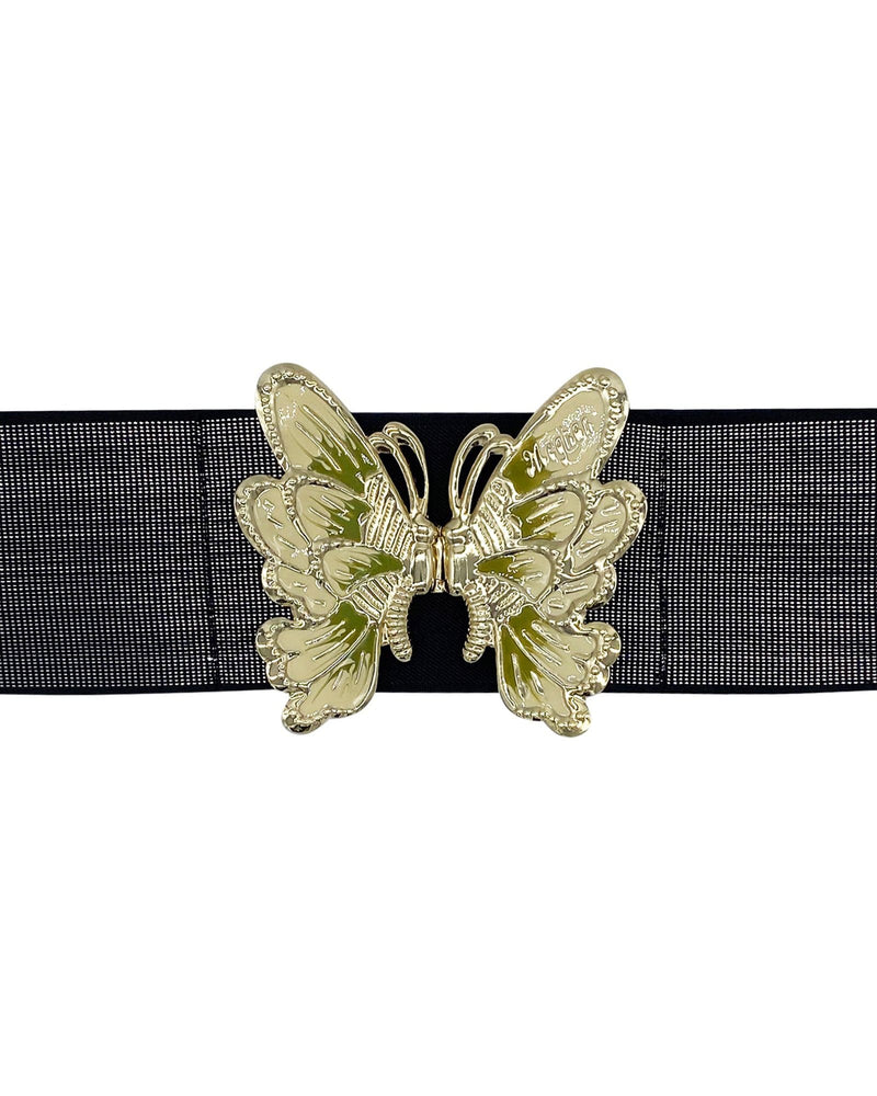 Butterfly Belt - Black Sparkle - Meghan Fabulous