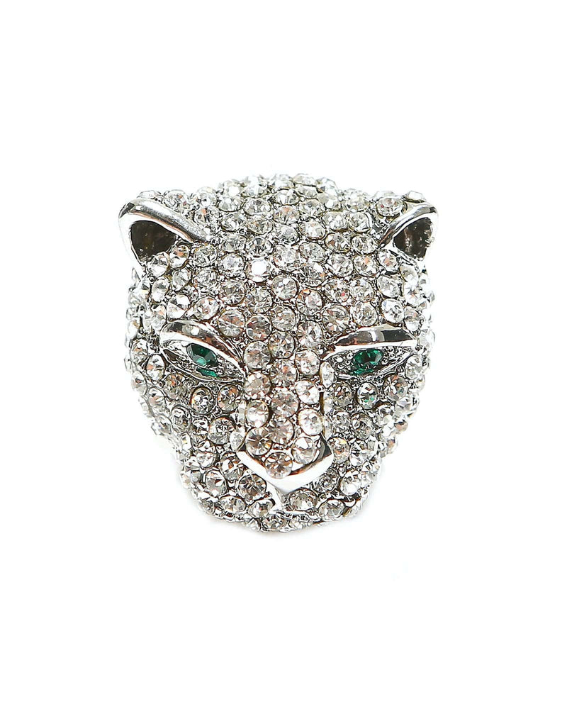 Where the Wild Things Are Panther Ring- Silver