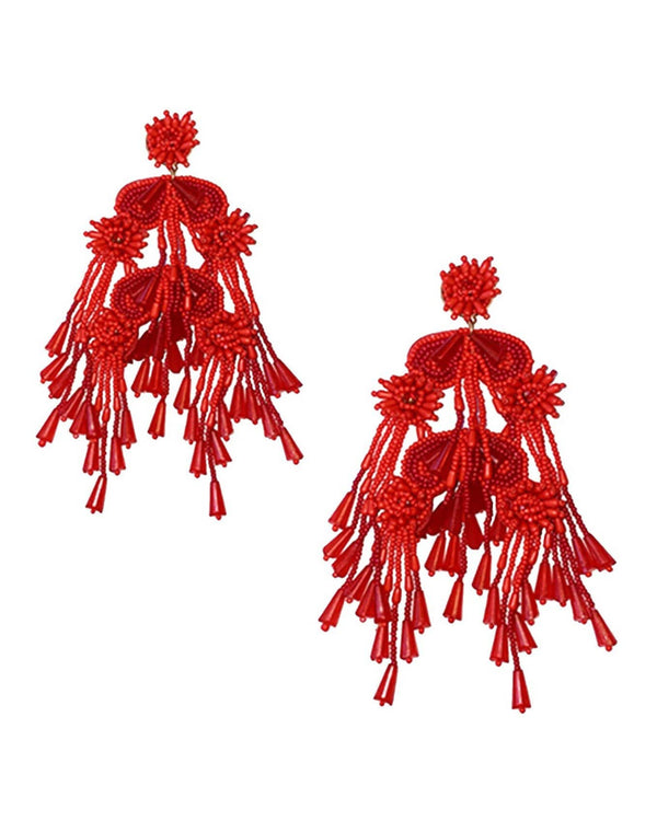 Firework Earrings - Flame - Meghan Fabulous