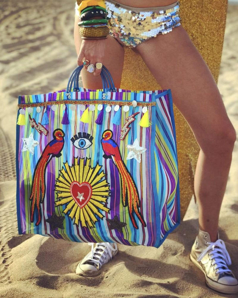 El Fabuloso Tote Bag - Pirate Blue - Meghan Fabulous