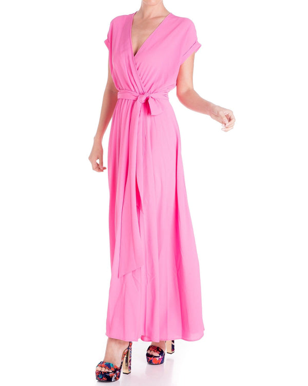 Jasmine Maxi Dress - Bubble Gum Pink