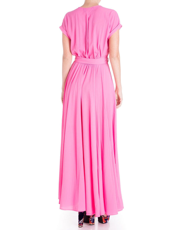 Jasmine Maxi Dress - Bubble Gum Pink 1