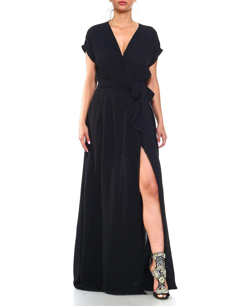 Jasmine Maxi Dress - Black - Meghan Fabulous