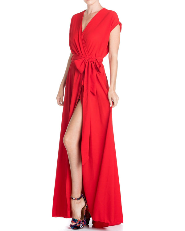 Jasmine Maxi Dress - Cherry - Meghan Fabulous