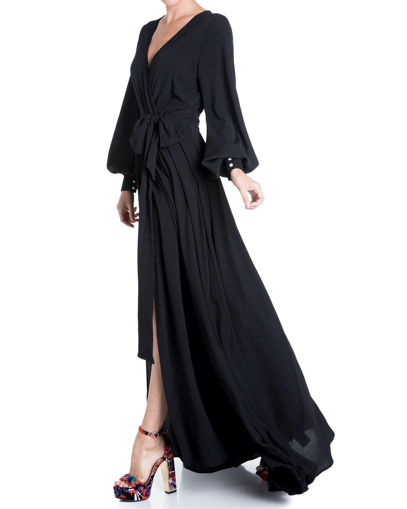 Venus Maxi Dress - Black