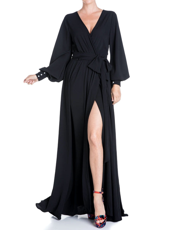 Venus Maxi Dress - Black - Meghan Fabulous
