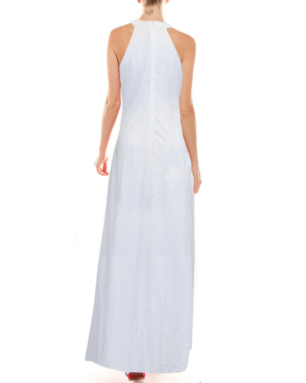 Aphrodite Maxi Dress - White - Meghan Fabulous