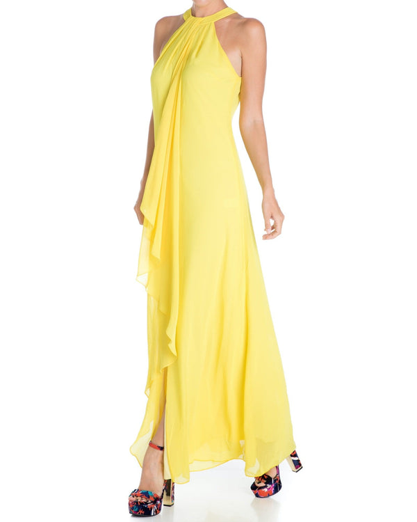 Aphrodite Maxi Dress - Yellow