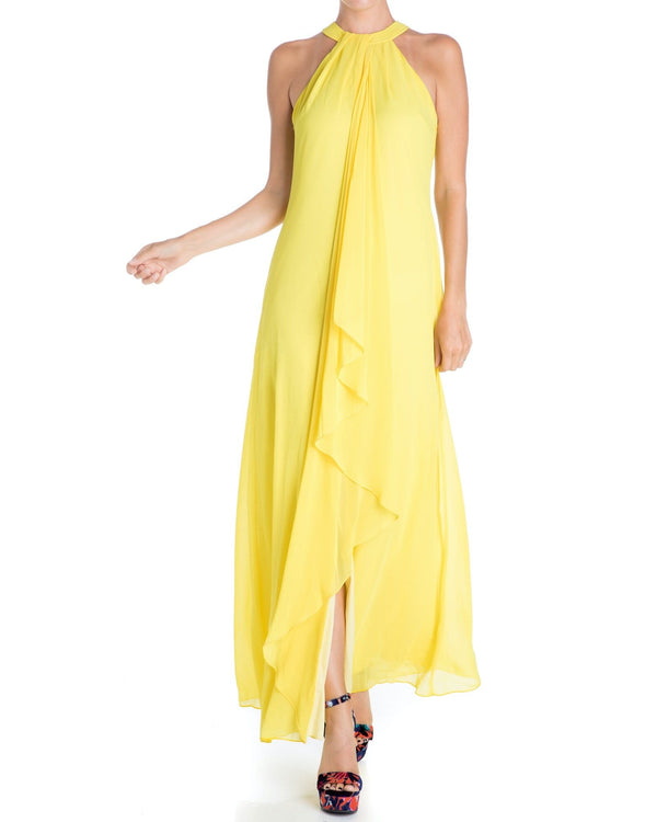 Aphrodite Maxi Dress - Yellow - Meghan Fabulous