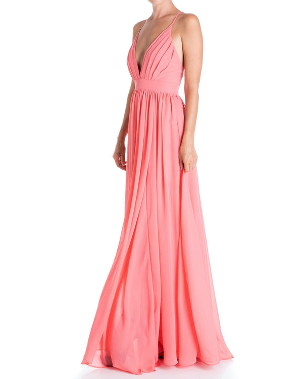 Enchanted Garden Maxi Dress - Buff - Meghan Fabulous