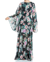 Sunset Maxi Dress - Orchid Black