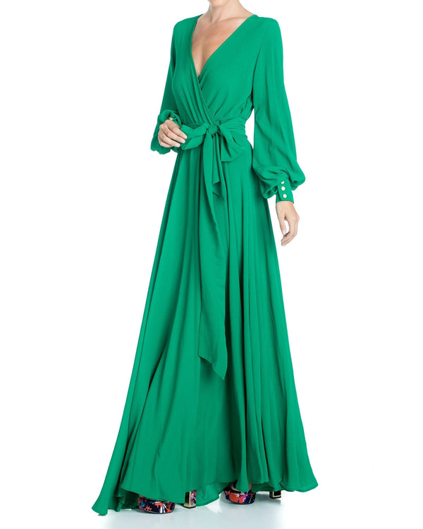 LilyPad Maxi Dress - Emerald - Meghan Fabulous