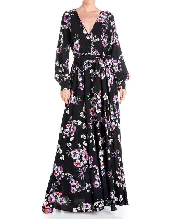 LilyPad Maxi Dress - Jasmine Black