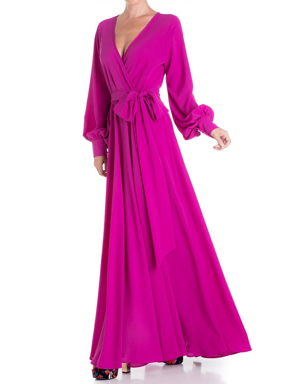 # LilyPad Maxi Dress - Magenta - Meghan Fabulous
