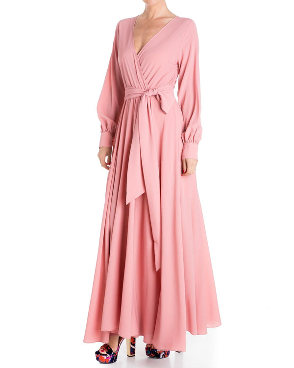 LilyPad Maxi Dress - Mauve