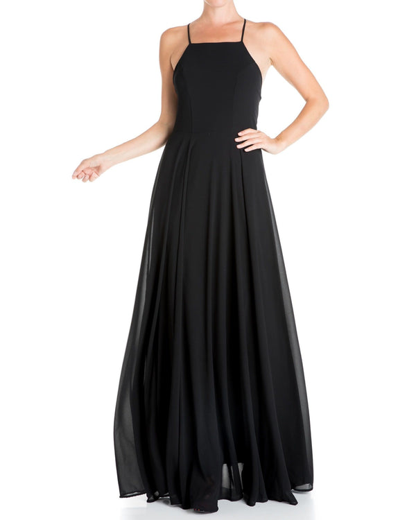 Midnight Maxi Dress - Black - Meghan Fabulous