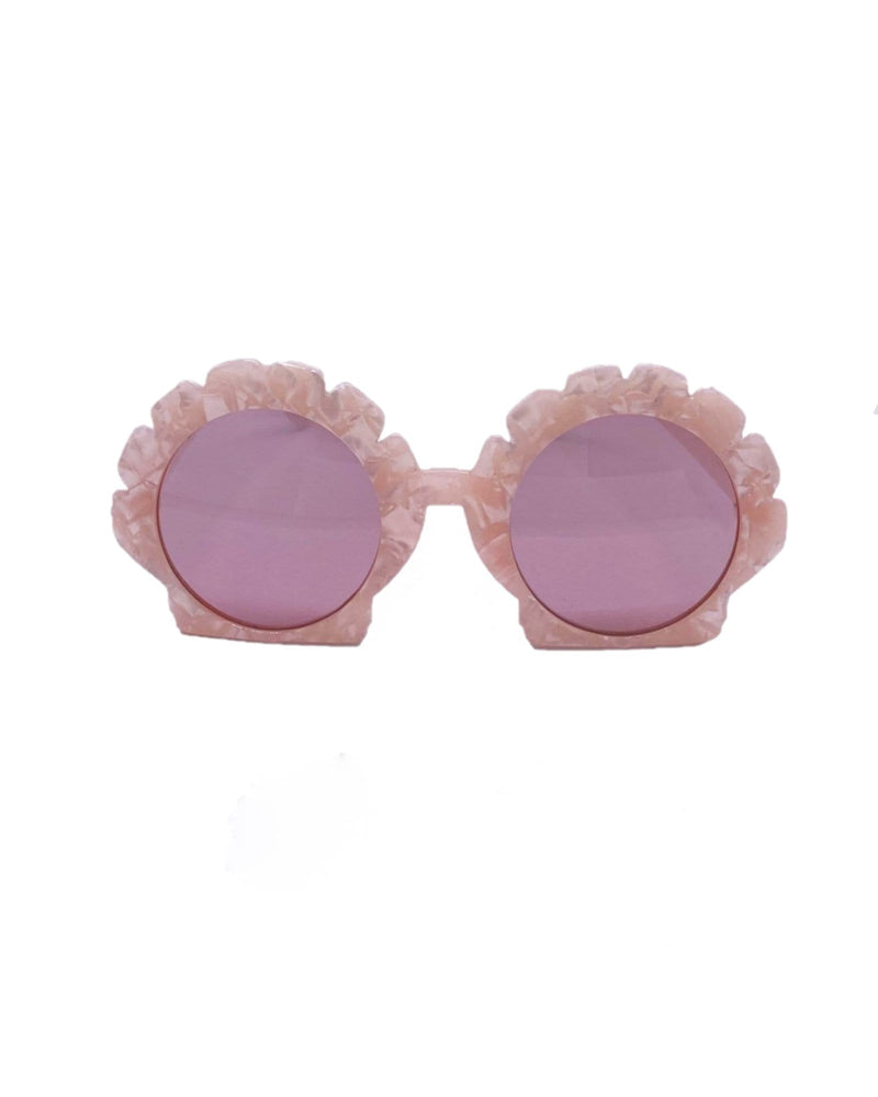Mermaid Shell Sunglasses - Pink Pearl - Meghan Fabulous