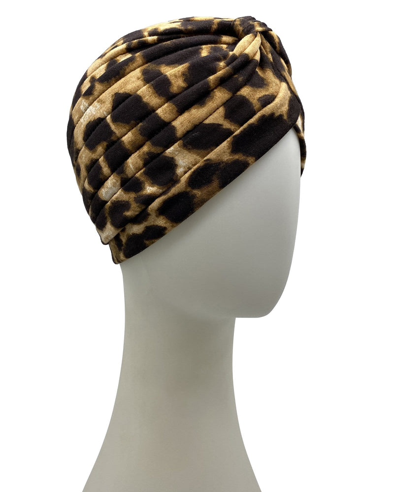 Psychic Friends Turban - Leopard