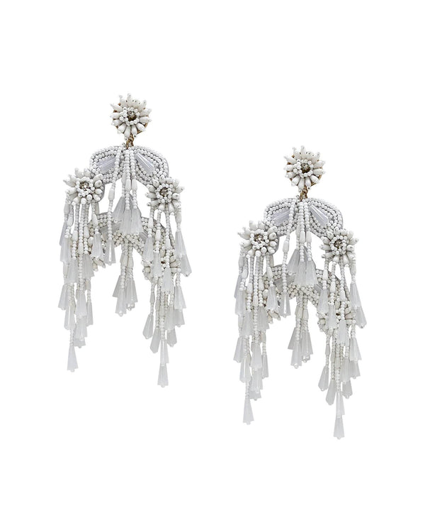 Firework Earrings - Blanco - Meghan Fabulous