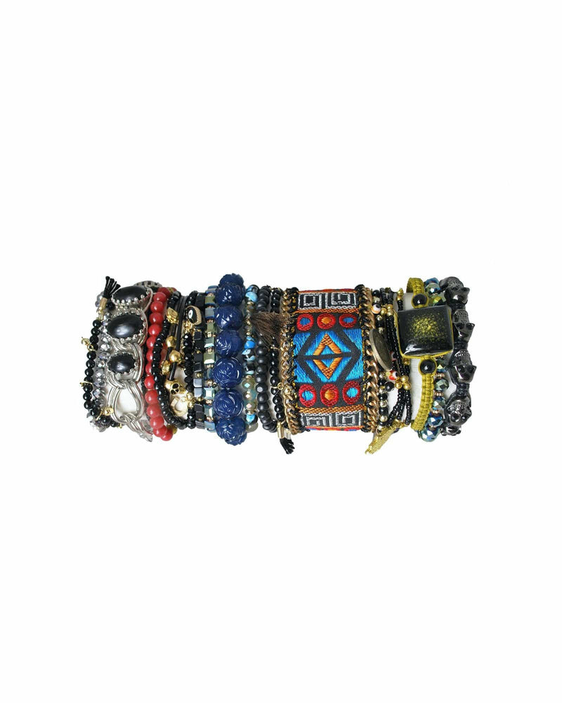 Surfari Bracelet Set - Black