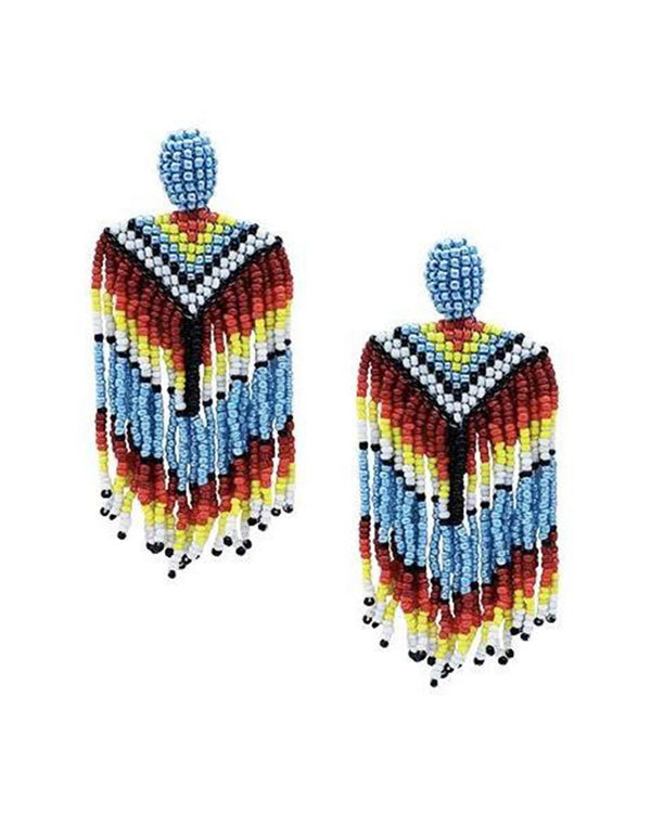 Majestic Unicorn Beaded Earrings - Meghan Fabulous