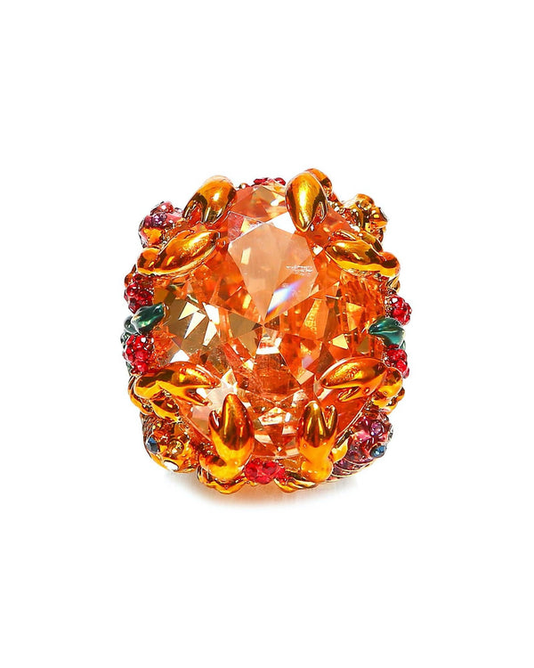 The Scorpions Cocktail Ring - Citrine