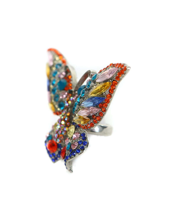 Butterfly Ring- Multi