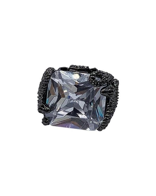 Cleopatra Ring - Black - Meghan Fabulous