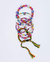 Surfari Bracelet Set - Pink Neon