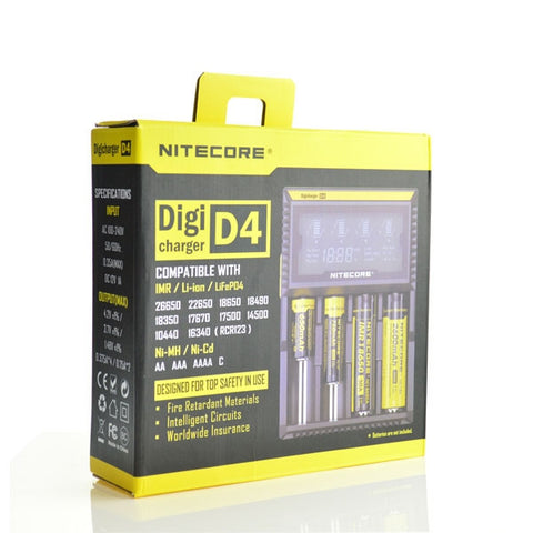 Nitecore D4 Digicharger 4 Bay Charger