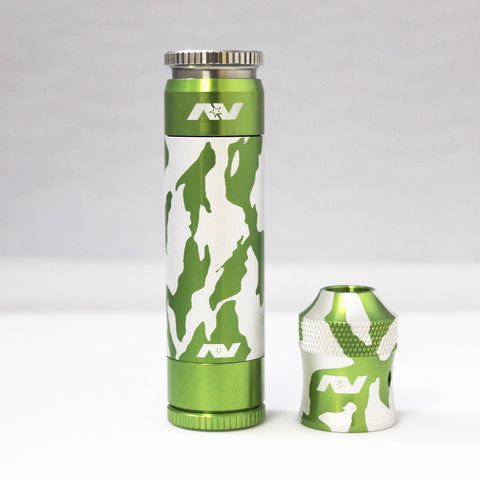 Avid Lyfe Green Aluminum Able Mod with Tiger Captain Cap and Sleeve (Authentic)