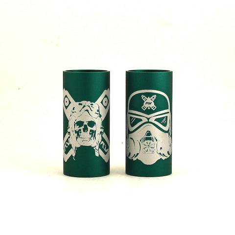 Avid Lyfe Green Able Sleeve with Aviator or Stormtrooper Logo