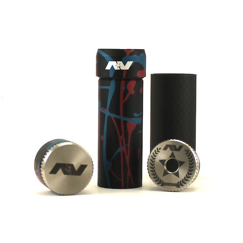 Avid Lyfe Red/Blue Splatter Stainless Steel Able Competition Mod (Authentic)