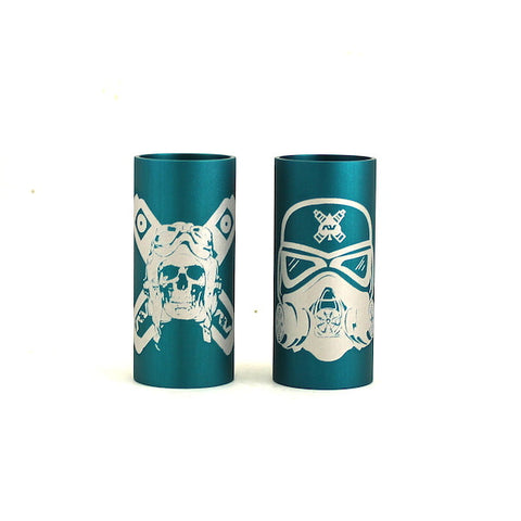 Avid Lyfe Teal Able Sleeve with Stormtrooper or Aviator Logo