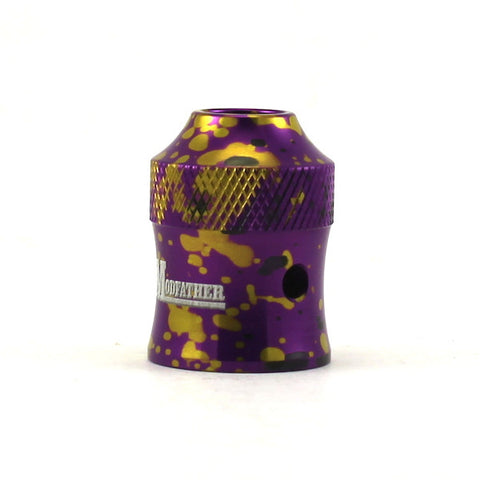Avid Lyfe Modfather Cap Purple/Black/Yellow