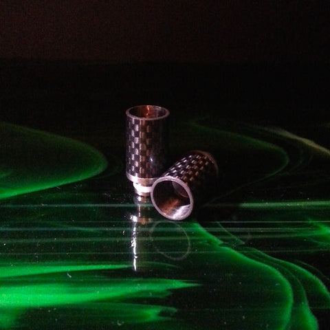 Carbon Fiber Wide Bore Drip Tip