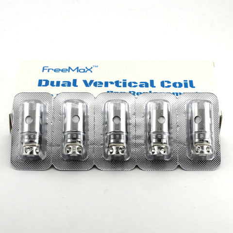 Starre Dual Vertical Coils by FreeMaX (Kanthal and Nickel) 5/pk