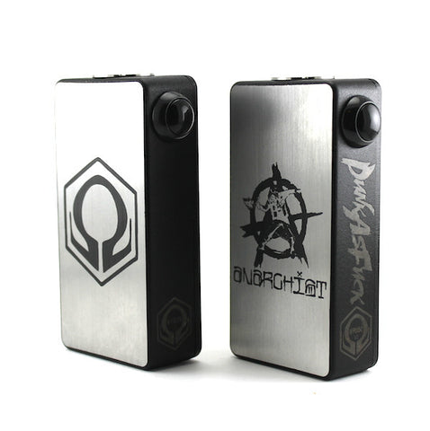 Hexohm V2 Brushed Stainless Steel 110 Watt Box Mod by Craving Vapor (Authentic)